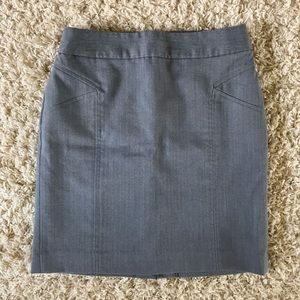 Banana Republic Gray Skirt. Size 2P